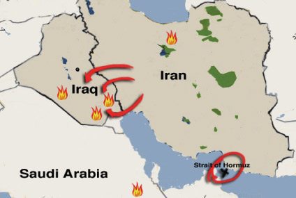 Shiite And Sunni. that some Map+shiite+sunni